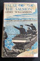 1936 1st Edition Salar the Salmon by Henry Williamson - Illustrated by C. F. Tunnicliffe