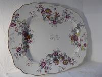 Large Chamberlain Worcester Platter (6 of 6)