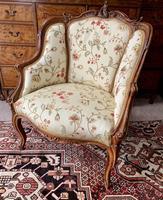 French Walnut Tub Chair (13 of 15)
