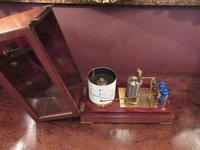 Antique Polished Mahogany Portable Barograph (8 of 9)