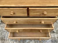 Antique Pine Chest of Drawers (12 of 17)