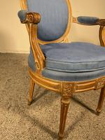 Set Of 12 Chairs And Two Armchairs Louis XVI 18th Century (9 of 11)