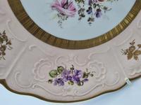 Vintage German Porcelain Plates / Chargers Bavarian /Set of Three (29 of 32)