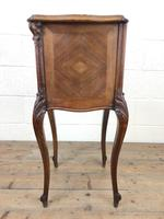 Antique French Marble Top Side Cupboard (7 of 9)