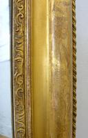 Large 19th Century Victorian Gilt Overmantle Mirror (6 of 14)