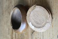 Scandinavian / Swedish 'Folk Art' wooden sliding-lid bowl 19th Century (4 of 15)