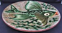 Spanish Art Pottery Fish Plate, Puigdemont Catalonia c.1950 (3 of 5)