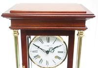 Howard Miller Signature Series Mantel Clock visible pendulum 4 Glass Mantle Clock (12 of 12)