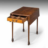 Chippendale Period Mahogany Pembroke Table (3 of 6)