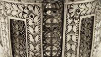 Pair of Antique Victorian Sterling Silver Filigree Napkin Rings in Case 1890 (4 of 10)