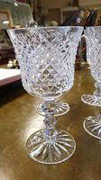 Set of Four Large Waterford Wine Goblets (8 of 8)