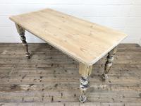 Vintage Pine Farmhouse Kitchen Table (4 of 9)