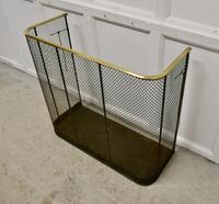 Very Large High Victorian Nursery Guard Fire Fender (5 of 5)