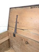 Rustic Antique Wooden Trunk (6 of 8)