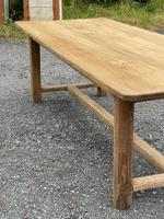 Large French Bleached Farmhouse Dining Table (7 of 26)