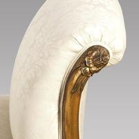 19th Century Giltwood Chaise Longue (4 of 5)