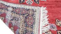 """Vintage / Retro Wool Rug ~ 8' x 4'6"""" Eastern (7 of 8)"""