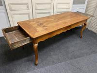 French Fruitwood Farmhouse Dining Table (10 of 15)