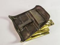 Antique 'Ges Gesch' Brass Letter Rack (5 of 6)