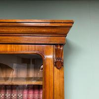 Quality Victorian Mahogany Glazed Antique Bookcase on Cupboard (4 of 9)