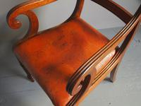 Pair of George IV Mahogany Armchairs (9 of 9)