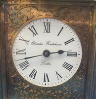 Victorian Gilt Brass  Charles Frodsham Carriage Clock (5 of 11)