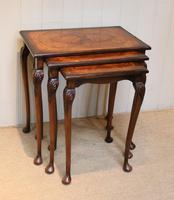 1930s Walnut Nest Of Tables (9 of 10)