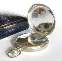 Antique Silver Waltham Full Hunter Pocket Watch (2 of 5)