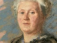Fine Quality Early 20th Century Oval Pastel Portrait Painting Inc London Gallery Label (6 of 12)