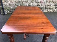 Antique Walnut Wind Out Extending Dining Table (5 of 13)