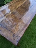 18th Century Cherrywood Farmhouse Table (4 of 9)