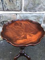 Antique Mahogany Tripod Wine Table (3 of 4)