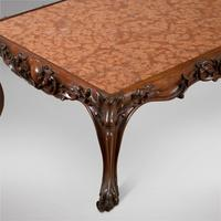 Continental Rosewood Framed Table with Marble Top (2 of 4)