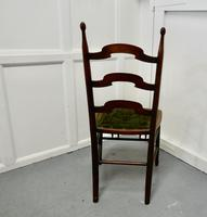 19th Century Chair with Original Carpet Seat by John Hodder (6 of 7)