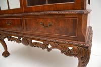 Burr Walnut Display Cabinet c.1930 (5 of 11)