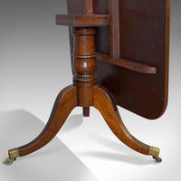Antique Breakfast Table, English, Mahogany, Tilt Top, Dining, Regency, C.1820 (6 of 10)