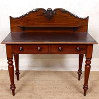 Victorian Mahogany Writing Desk (3 of 9)