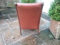 Arts & Crafts Leather Armchair (3 of 4)