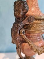 Pair of Italian Candelabra in Brass with Cherubs Vintage (7 of 8)