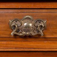 Handsome Victorian Walnut Glazed Bookcase C1890 (2 of 12)
