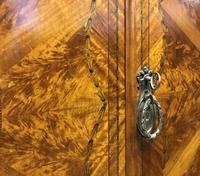 Edwardian Inlaid Satinwood Wardrobe (19 of 30)