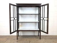 Antique Mahogany Display Cabinet (3 of 8)