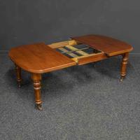 Victorian Mahogany Extending Table (6 of 9)