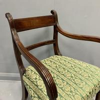 19th Century Regency Carver Armchair (4 of 7)