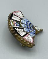 Micro Mosaic Fan Shaped Brooch (5 of 11)
