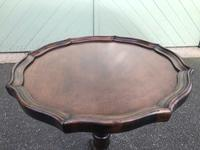 Antique Mahogany Tripod Wine Table (4 of 6)