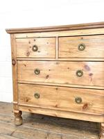 Small Victorian Pine Chest of Drawers (4 of 10)