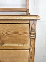 Victorian Antique Pine Dresser (17 of 18)