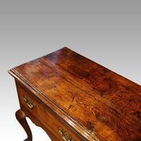 George III Oak Cabriole Leg Dresser (4 of 12)