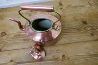 Charming 19th Century Oval Copper Kettle (4 of 5)